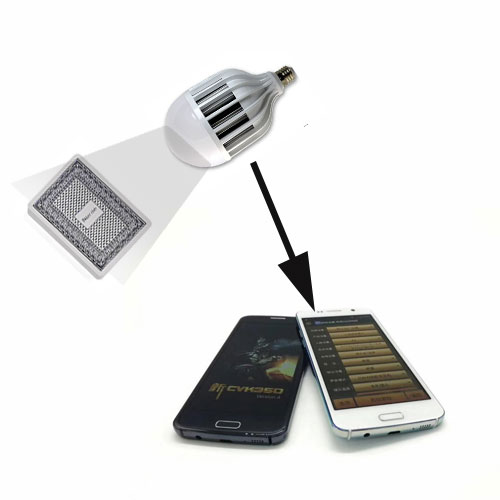 Energy Saving lamp Poker Camera | Magic Props