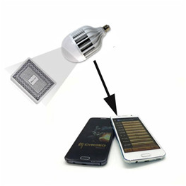 Energy Saving lamp Poker Camera | Cheating Devices