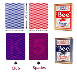 USA Bee No.92 Paper Marked Playing Cards Magic