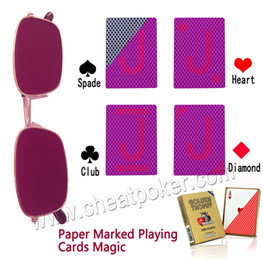 cheating in Poker Playing Cards Modiano Ramino Golden Trophy