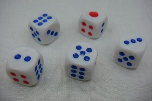 Universal mercury dice magic dice Get Any Pip You Need