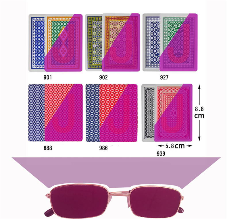 Cheat Glasses|Sunglasses used for mark card