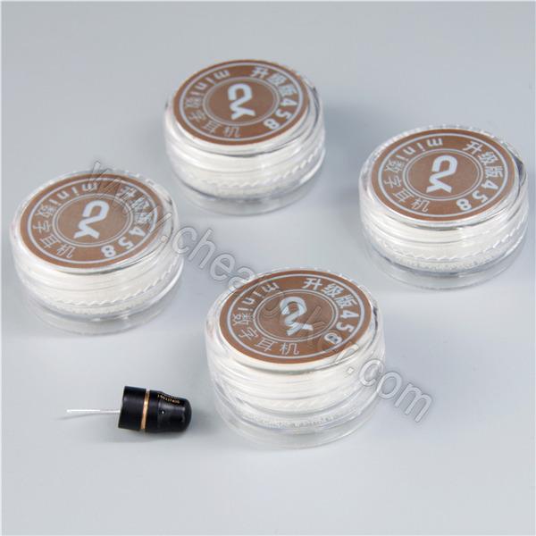 Gambling accessories 458 Audio Wireless  mini headset for Analyzer