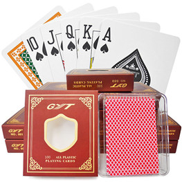GYT playing cards marked card for poker cheat