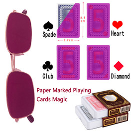 Marked card Mastery playing cards magic card