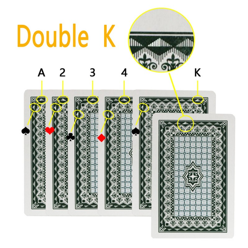 Cipher card Double K, How to cheat at poker