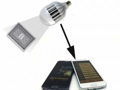 Energy Saving lamp Poker Camera for poker cheating