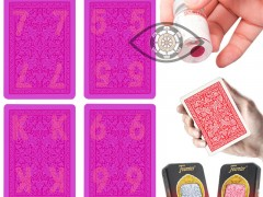 Identify playing cards from the back : recognize the 54 playing card recognition skills