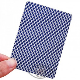 Invisible Marked Trick QEACHI Poker Plastic Playing Cards for Contact Lenses Magic Poker Invisible P