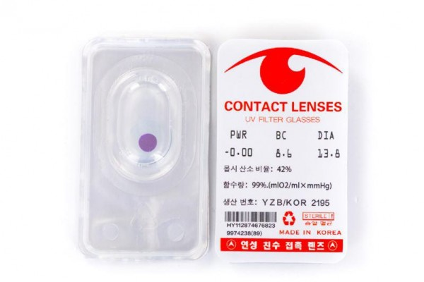 Contact lenses See Invisible Luminous Ink Marks Anti Cheat in Poker Cards Games Perspective Playing