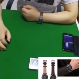 Watch Hidden Camera Poker Scanner magic poker lens