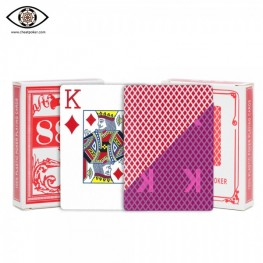 Marked cards for Infrared contact lenses| Bird perspective cheat poker playing cards