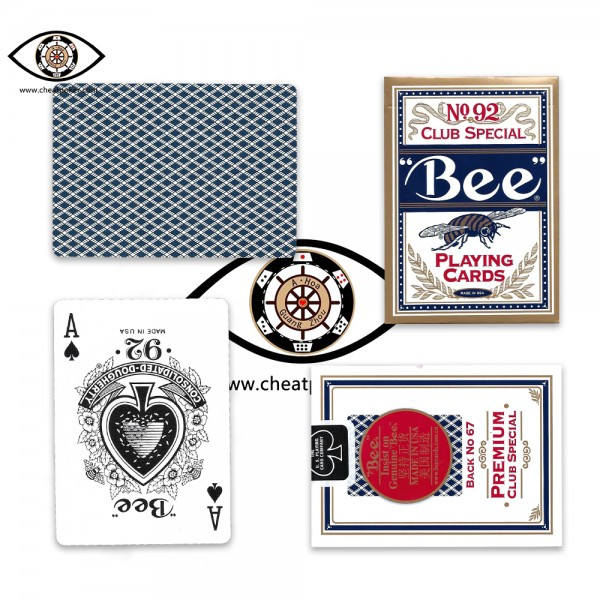 BEE Infrared Marked Cards