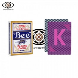 J.L. marked cheat poker|Bee No.92 magic paper perspective playing cards
