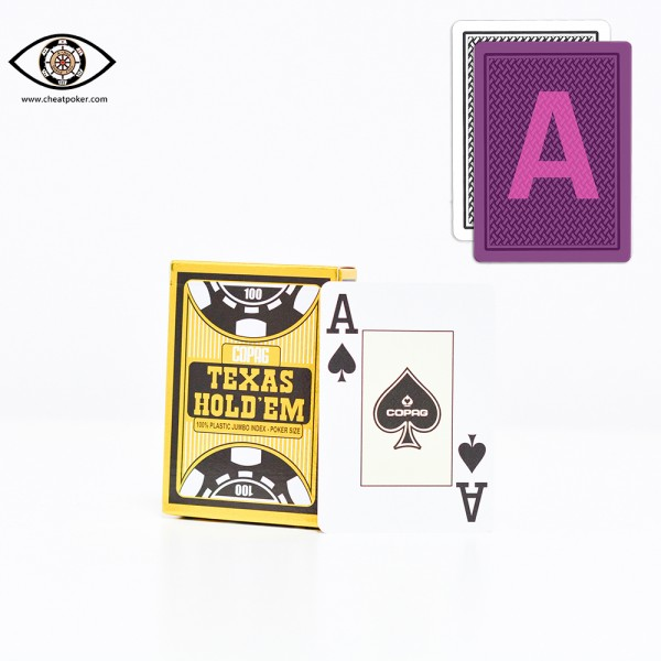 Infrared Marked Cards of COPAG cheat poker