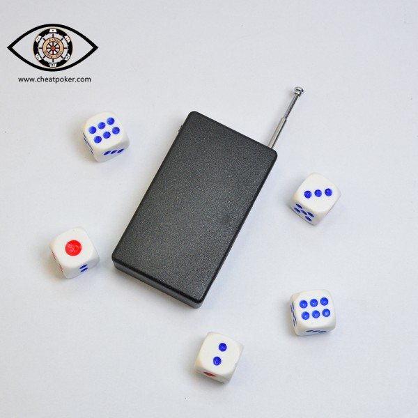 magic dice can tell the point to receiver by radio wave