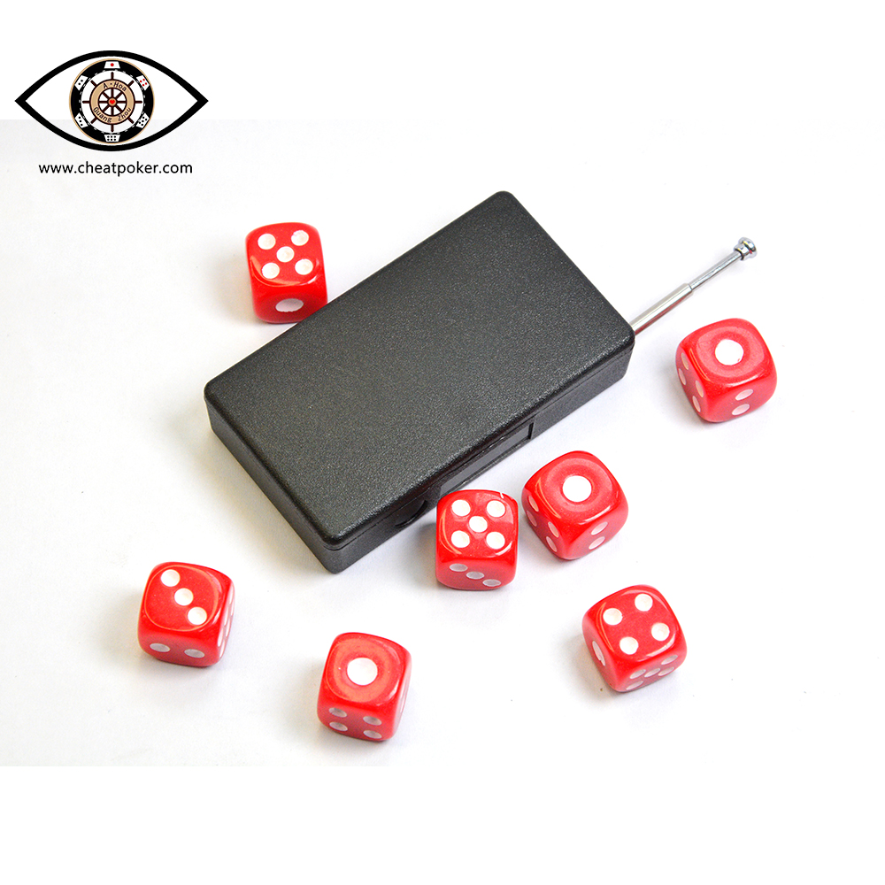 Win 100% with magic dice which can tell the point to receiver by radio wave