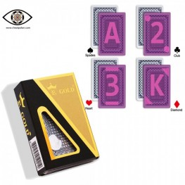 Marked cards for contact lenses, Korean Gold Kingdum cheat poker marked playing cards