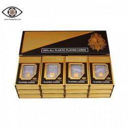 Marked cards for contact lenses, Bridge size Korean Gold Kingdum marked cheat poker
