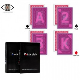 Marked cards for contact lenses, Poker Club marked cheat poker
