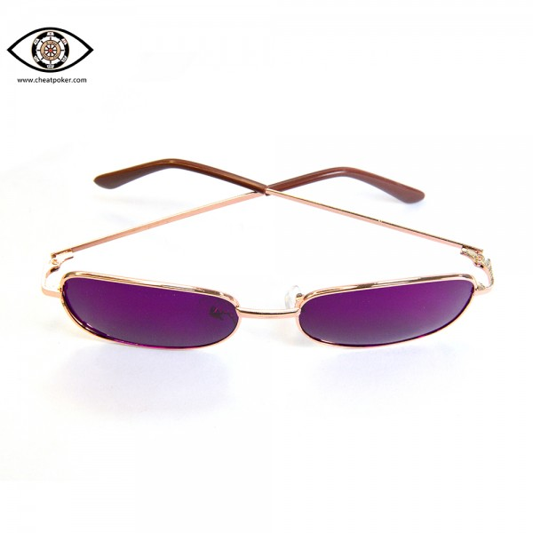 sunglasses of marked cheat poker cards