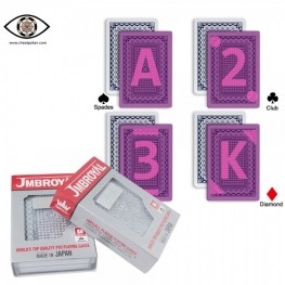 Marked cards for contact lenses, JMBROYAL marked cheat poker