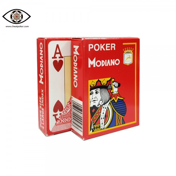 modiano marked playing cards 4 corner