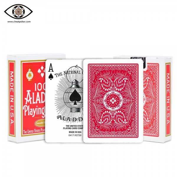 ALADDIN marked cards cheat poker