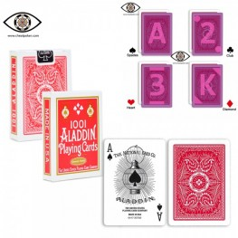 Marked cards for contact lenses, ALADDIN 1001 infrared marked cheat poker