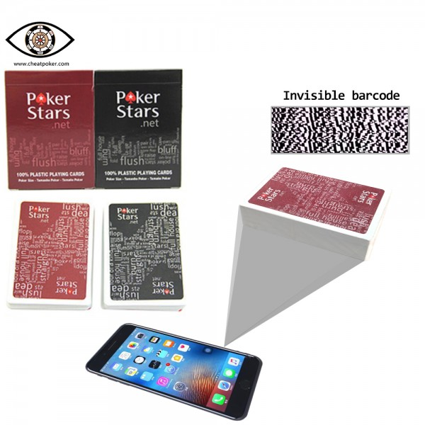 Marked Cards for analyzer, Poker stars barcode side marked cheat poker