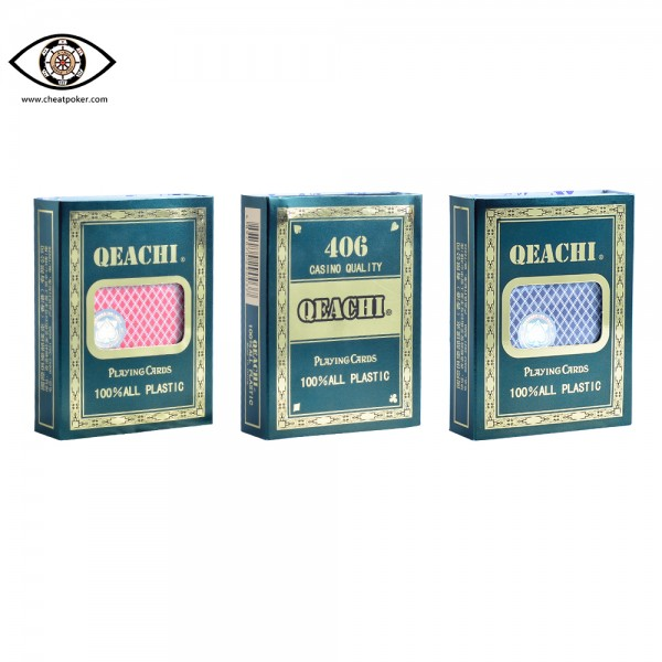 QEACHI marked cards cheat poker