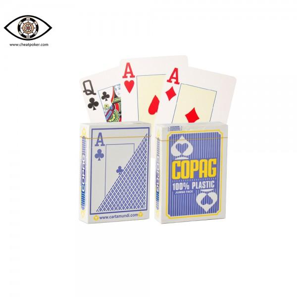 COPAG marked cards for infrared co<em></em>ntact lenses