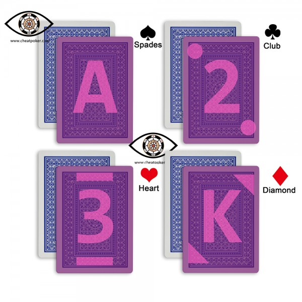 AVIATOR marked cards mark type