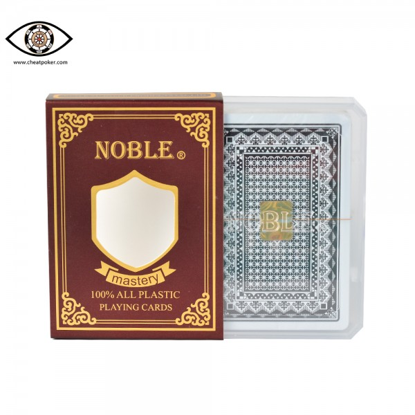 NOBLE, marked cards, cheat poker
