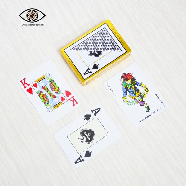 COPAG marked cards cheat poker