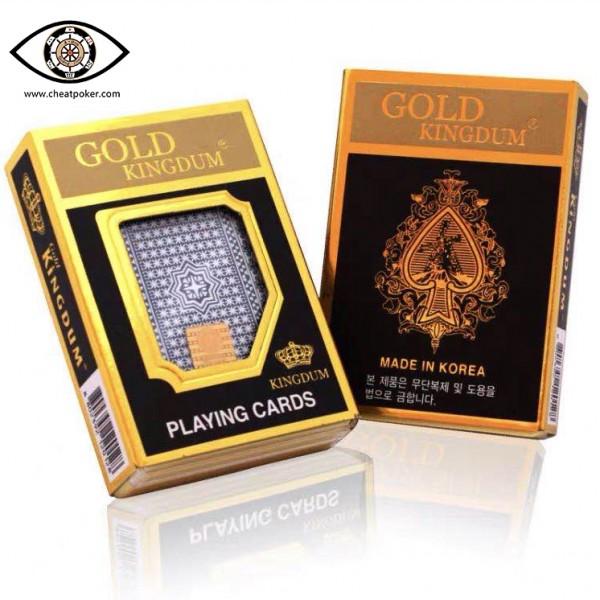Korean Gold Kingdum barcode marked cards