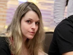 Argentina's female player Maria Lampropulos is on the road to poker millionaires
