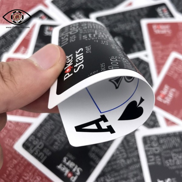 poker stars marked playing cards