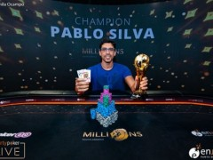 Poker News|Pablo Silva won the partypoker SAOM Main Event title
