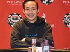 Philip Shing won the Potawawatomi on the WSOP Tour | Marked Playing Cards