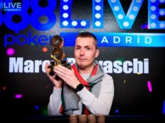 Marked Cards Poker News|Marco Biavaschi Won The 888 Poker Madrid