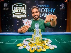 Marked Playing Cards Poker News|Timothy Adams Won The Australian Super Bowl