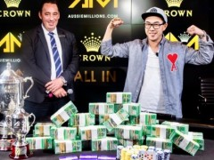 Marked Cards Poker News| Vincent Wan Won The Australian Millions Main Event