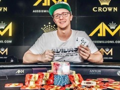 Marked Cards Poker News| Kahle Burns Won The Australian Millions Championship