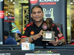 Marked Cards Poker News| Rayhaan Adam Won The APT Main Event Title