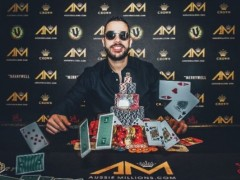 Marked Cards Poker News| Farid Jattin won the High Roller Championship