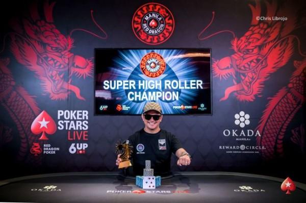 Lester Edoc won Manila Red Dragon Cup High Roller Championship