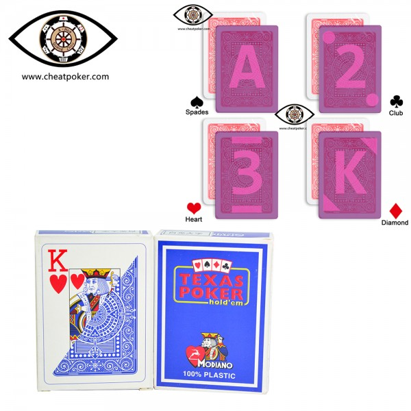 infrared marked cards of MODIANO cheat poker