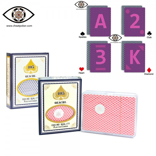 Infrared Marked Cards of QEACHI cheat poker