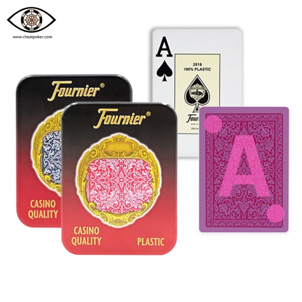 Infrared Marked Cards of Fournier 2818 - Not noly Fortune|JL Cheat Poker